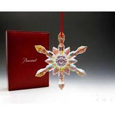 baccarat ornaments ebay
