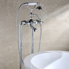 vintage bathtub faucets vintage copper sitting type silver freestanding bathtub shower faucet
