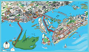 Port Of Miami Map by Free Map
