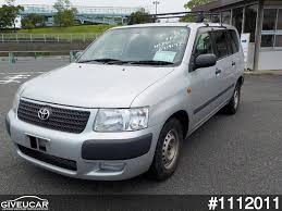 toyota japan used toyota succeed van from japan car exporter 1112011 giveucar