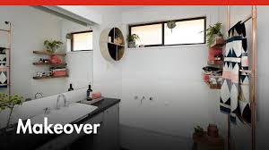 bathroom makeover on a budget d i y at bunnings youtube