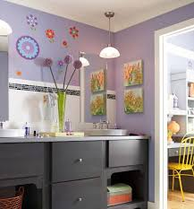 Wall Art Ideas For Bathroom 23 Kids Bathroom Design Ideas To Brighten Up Your Home