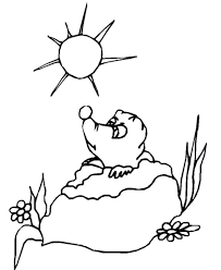 prairie dog coloring page groundhog s day coloring pages coloring home