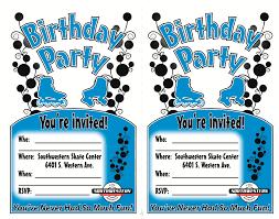 printable party invitations free roller skating birthday party invitations u2013 gangcraft net