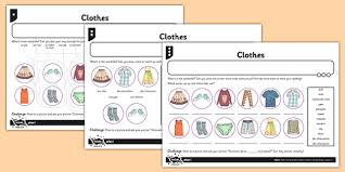 french clothes 1 activity sheet french clothes activity