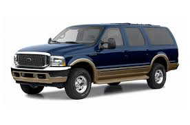 2002 ford excursion limited 7 3l 4dr 4x4 specs and prices