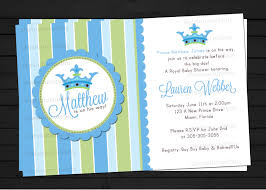 prince baby shower invitations theruntime com