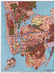 Subway Nyc Map Nyc Subway Map By Ethnicity