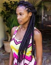 grey and purple combined together style box breads 11 of the biggest and best jumbo box braids hairstylesout