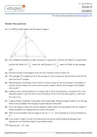 grade 9 sasmo printable worksheets online practice online tests