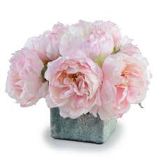 faux peonies 415 305 pink peony faux flower pink peonies in assorted pink