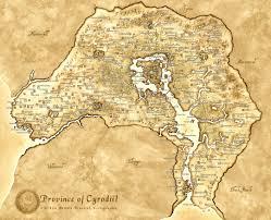 Map Of Nirn Elder Scrolls Oblivion Map Maps Pinterest