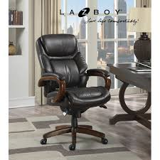 Office Chair La Z Boy Big U0026 Tall Executive Leather Office Chair