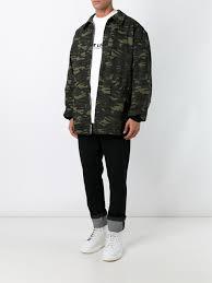 alexander wang x h m bra top alexander wang oversized camouflage