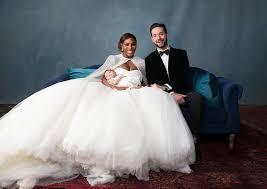 Alexander Mcqueen Wedding Dresses Serena Williams Looked Gorgeous In Her Alexander Mcqueen Wedding