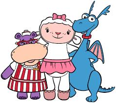 mcstuffin stuffy character clipart