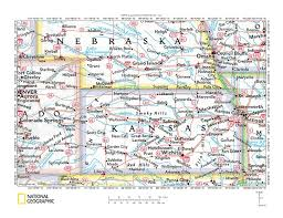 River Map Of Usa by Reference Map Of Kansas Usa Nations Online Project Kansas State
