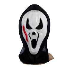 Halloween Death Costume Mask Art Picture Detailed Picture Grim Reaper