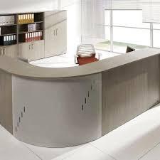 banque d accueil bureau module d angle concave de banque d accueil aluminium mobilier de