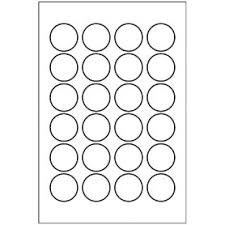 templates round labels 24 per 4