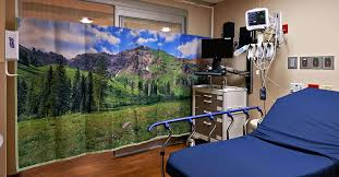 Hospital Curtains Canada Hospital Curtains Scenic Overheads Wall Treatments Sereneview