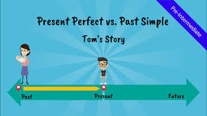 present perfect tense vs past simple tom u0027s story a comical