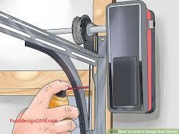 How To Install An Overhead Door Overhead Door Legacy New How To Install A Garage Door Opener With