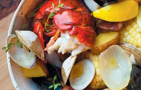 Cape Cod Clam Bake - traditional backside clambake with lobster recipe edible cape cod