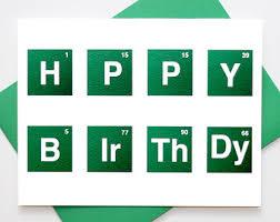 Science Birthday Meme - happy b ir th day card science chemistry science chemistry