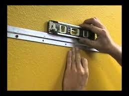 frame hanger how to hang heavy frame with z bar hanger youtube