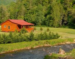 Luxury Cottage Rental by Springs Nc Luxury Waterfront Log Cabin Rental