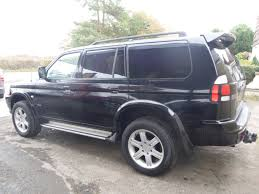 mitsubishi shogun sport 2 5 td blackerton cross garage