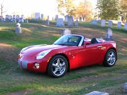 pontiac sports car five year solstice review