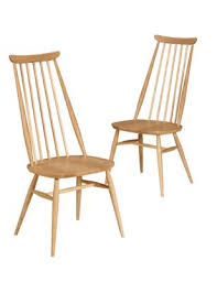 Ercol Armchairs 2 Ercol Turville Dining Chairs M U0026s