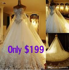 free wedding dresses discount new luxury cathedral wedding dresses sweetheart appliques
