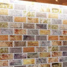 peel stick backsplash home design ideas a17014 adhesive mosaic tile backsplash 10 pieces peel n stick tile 9 5 sq ft