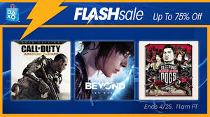 flash sale now deals on action games u0026 movies u2013 playstation blog