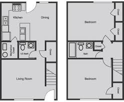 Townhouse House Plans Download Townhouse Floor Plans 2 Bedroom Buybrinkhomes Com