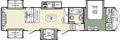 Thor Fifth Wheel Floor Plans by New Or Used Fifth Wheel Campers For Sale Rvs Near Sacramento