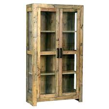 wood curio cabinet with glass doors small curio cabinet top10metin2 com