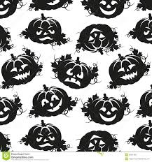 halloween images black and white seamless pattern of pumpkins for halloween royalty free stock