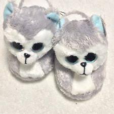ty u0027s beanie boo slippers pink small 10 11 ebay