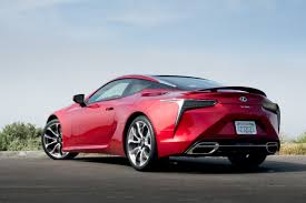 lexus lc luxury coupe 2018 lexus lc 500 our review cars com