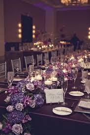 Purple Wedding Decorations Enchanting Silver And Purple Wedding Table Decorations 71 About