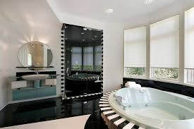 Bathroom White And Black Interior by 32 Bathrooms With Dark Floors