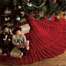 cable knit sweater tree skirt christmas decor crafts pinterest