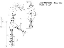 Bidet Mixer Tap Hansgrohe Axor Mondaro Bidet Mixer Tap Shower Spares And Parts