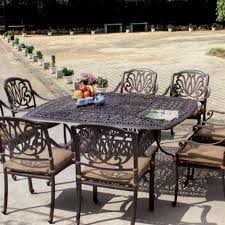 6 Seat Patio Dining Set - darlee elisabeth 9 piece cast aluminum patio dining set ultimate