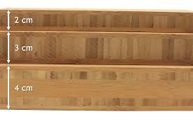 plan de travail en bambou pour cuisine plan de travail bambou caramel prémium la boutique du bois plans