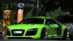 Audi R8 Green - audi r8 tuning image 11